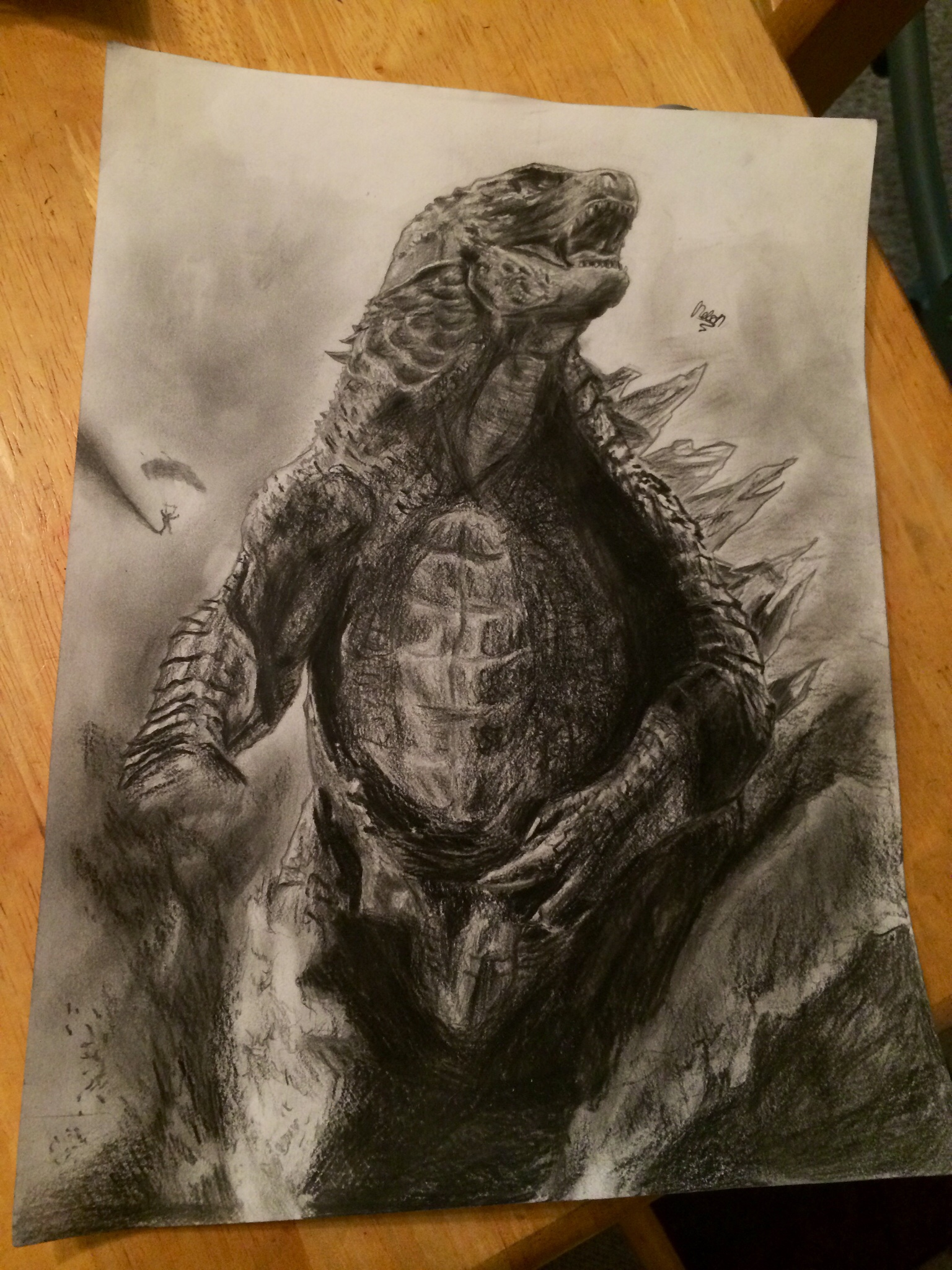 Godzilla Movie Fan Art Looks As Good As The Movie Does Innovative