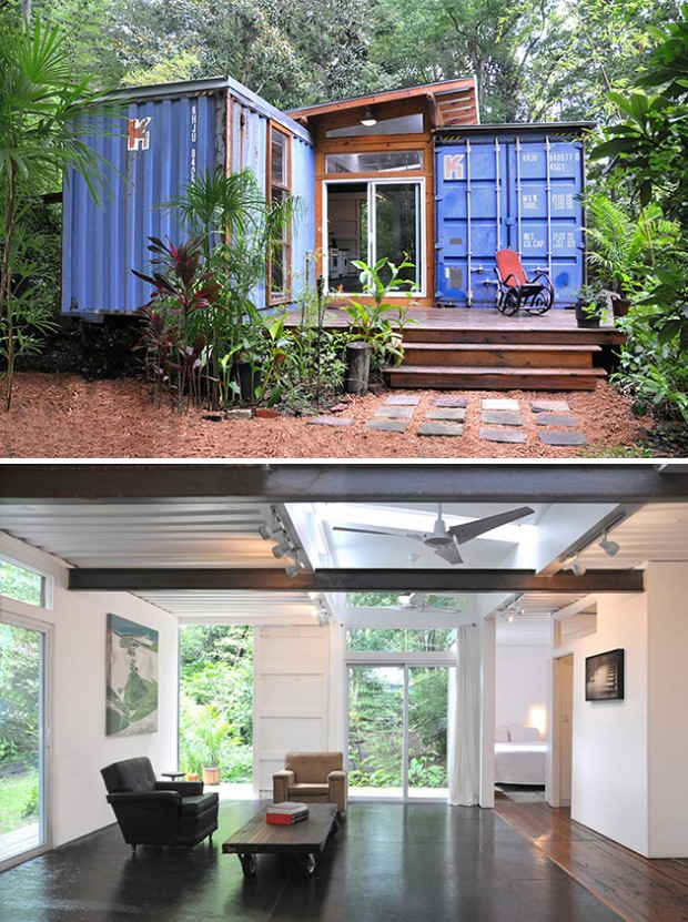 ... homes created from old shipping containers. container20-620x