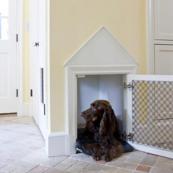 These dog havens can be disguised as a table cabinet or even just a
