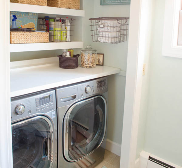 DIY Laundry Room Ideas To Save Space And Create Efficiency